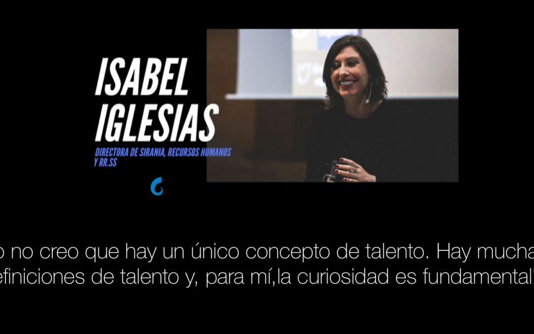 Entrevista a Isabel Iglesias