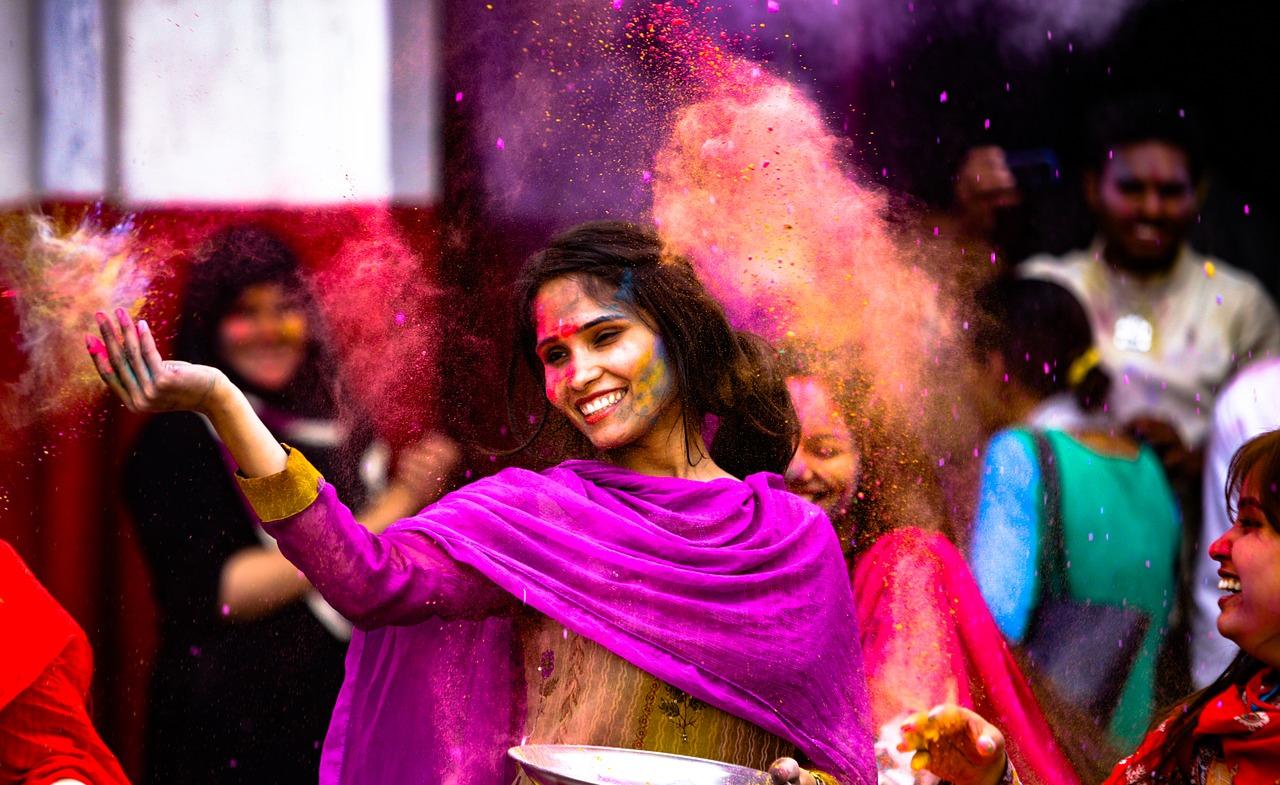 Holi: la fiesta del color